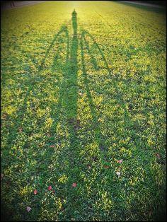 Frederic und ich in der Herbstsonne.