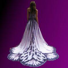 Alternative Wedding Dress  / French Quarter Voodoo Queen Gown