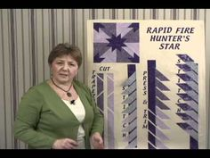 Learn how to make Deb Tucker's Rapid Fire Hunter's Star.