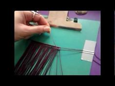 Macrame Tutorial - How to Wrap a Stone [DIY]