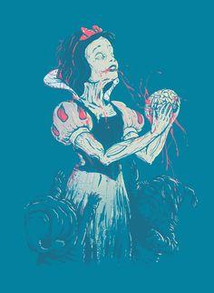 Snow white zombie.