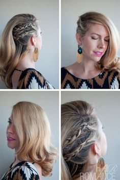 cornrow combover braid
