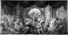Oscar Rejlander - Two Ways of Life (1857 30+ negatives stitched together)