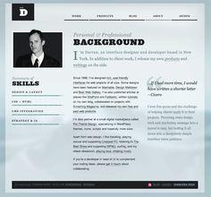 Portfolio site design.