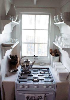 ♕ tiny house kitchen