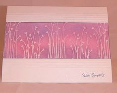 SUO Sympathy Card by heatherla - Cards and Paper Crafts at Splitcoaststampers