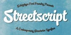 streetscript | My Fonts