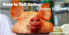 Nose to Tail Eating: 5 Reasons to Dive in -