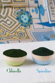 chlorella & spiruline