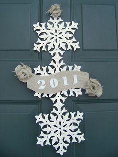 new year's/winter wreath
