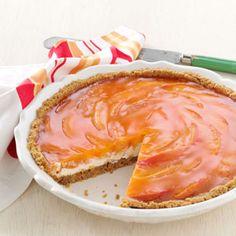 Sunny Peaches Cream Pie
