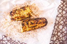 Charred Corn with Chili and Lime | Slender Kitchen