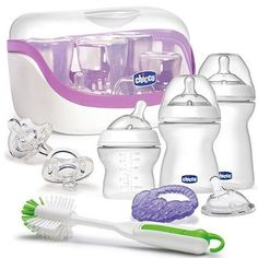 The Chicco® NaturalFit™ All You Need Starter Gift Set has got you covered for feeding your new baby. This is a sweepstakes entry. To enter our Baby Bundle Sweepstakes for a chance to win over $1,200 in Chicco and buybuy BABY prizes, visit Facebook.com/buybuyBABY.