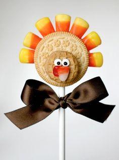 50 really cute Thanksgiving & Fall treat ideas!