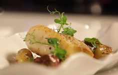 Perfect Dish for Fall Weather from Chef Scott Hunnel at Albert's at Disney's Grand Floridian Resort and Spa - Pan-Seared Sablefish with Fingerling Potatoes and Zellwood Corn