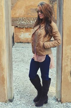Warm And Beautiful Jacket: Brown