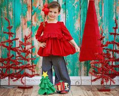 Oh Christmas Tree ~ quite possibly the CUTEST pants EVER!