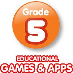 Elementary Computer Activities & Games & Apps - 5th Grade