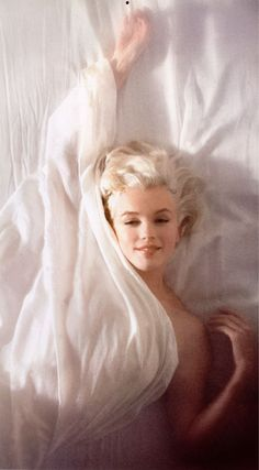 Marilyn Monroe (this lovely, talented and intelligent victim of fame died 50 years ago today. 8/5)