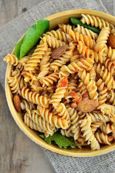 Gluten-Free Recipe: Sun-Dried Tomato & Garlic Pasta