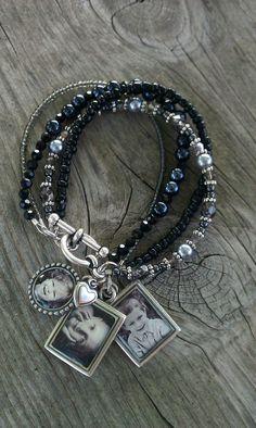 Photo Charm Bracelet