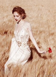 Jenny Packham wedding dress↣  The most beautiful dress and great fashion designer