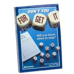 Dont You Forget It (Dice Game)