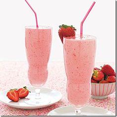 Fresh strawberry milk shakes - #FavoriteFood