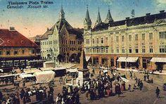 Timisoara - Piata Traian - antebelica