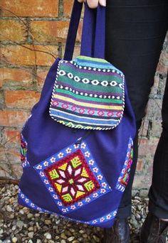 Beaded Navajo Backpack  £20