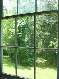 Spectacular antique window at Longwood Plantation in Natchez, MS