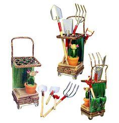 garden cart w/tools ~ want!!!!