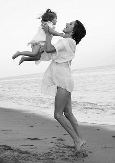 #mum and child #black and white pic