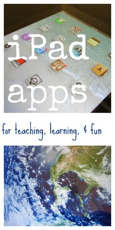 iPad apps: best apps for learning and fun for kids #digitalliteracy