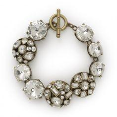 Crystal Cluster Bracelet C Wonder