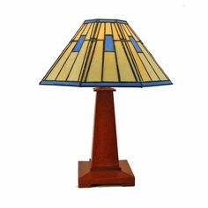 Mission  Arts and Crafts Table  Lamp by tpursell on Etsy, 800.00