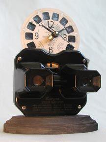 Vintage Viewfinder clock