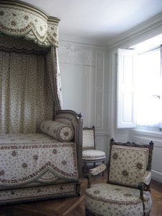 Petit trianon bed room Versailles France
