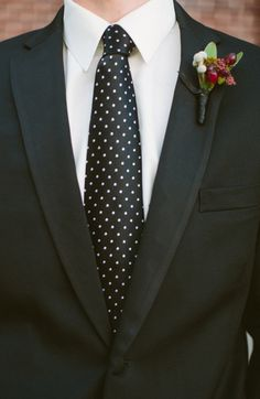 Black Polka Dot Tie | Photo by Taylor Lord