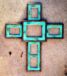 ♥ for photos cross decor, cross frame, craft, dream, family photos, crosses, picture frames, diy, wedding gifts