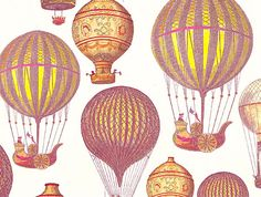 vintag hot, vintage air ballon, vintagevictorian imag, hot air balloons