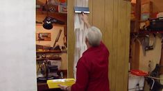 How to fill groove paneling before painting - this will come in handy for upcoming remodeling project.