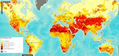 Drought risk (its not just isolated around the equator)