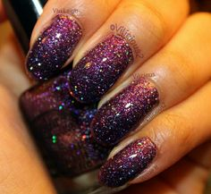 Color Club Gift Of Sparkle With Topcoat. Swatch by vilicious2.
