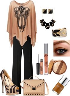 """Black & Tan"" by in2song on Polyvore"