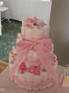 Mi torta de pañales