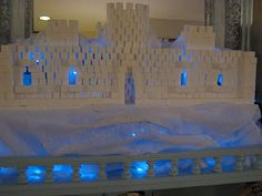 sugar cube ice castle