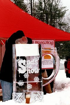Who said cold weather was a bad thing?  #MinhasCraftBrew