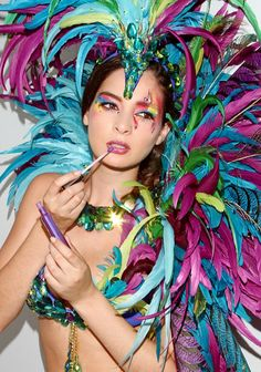 Trinidad Carnival look