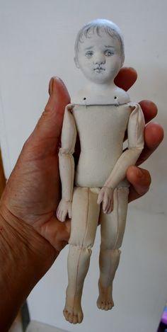 Lizzie OOAK Cloth Doll by susiemcmahon on Etsy, $140.00 doll puppet, ooak cloth, cloth doll, interest doll, lizzi ooak, doll inspir